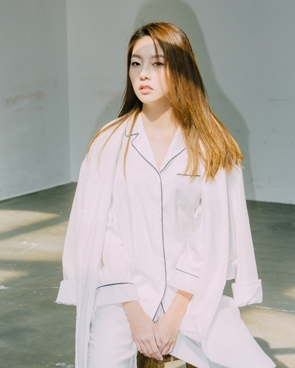 PJ WOMENS SKIN SHIRT - WHITE (상의단품)